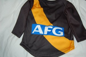 Put Jack Riewoldt's number on the Back
