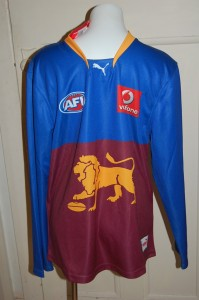 Old style Lions Mascot
