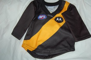 Jack Riewoldt's Baby Football Jumper