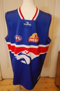Is Julia the Western Bulldogs No 1 Fan!