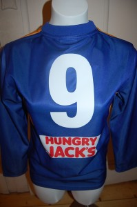 Who wore number 9 Jumper?