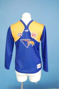 Win this Eagles Jumper to wear to the footy