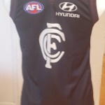 Carlton blue jumper