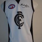 white carlton jumper