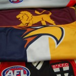 Footy Jumpers are Memories