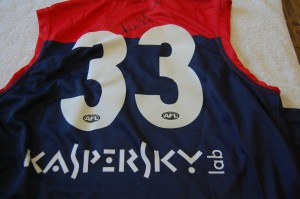 Dees footy jumper