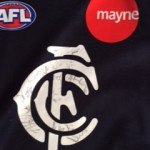 signed carlton jumper