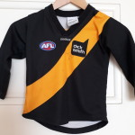 Tigers football jumper, jersey,guernsey