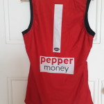 Saints jumper with new style number