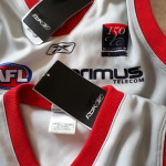 Melbourne Demons Retro 150 year footy Guernsey