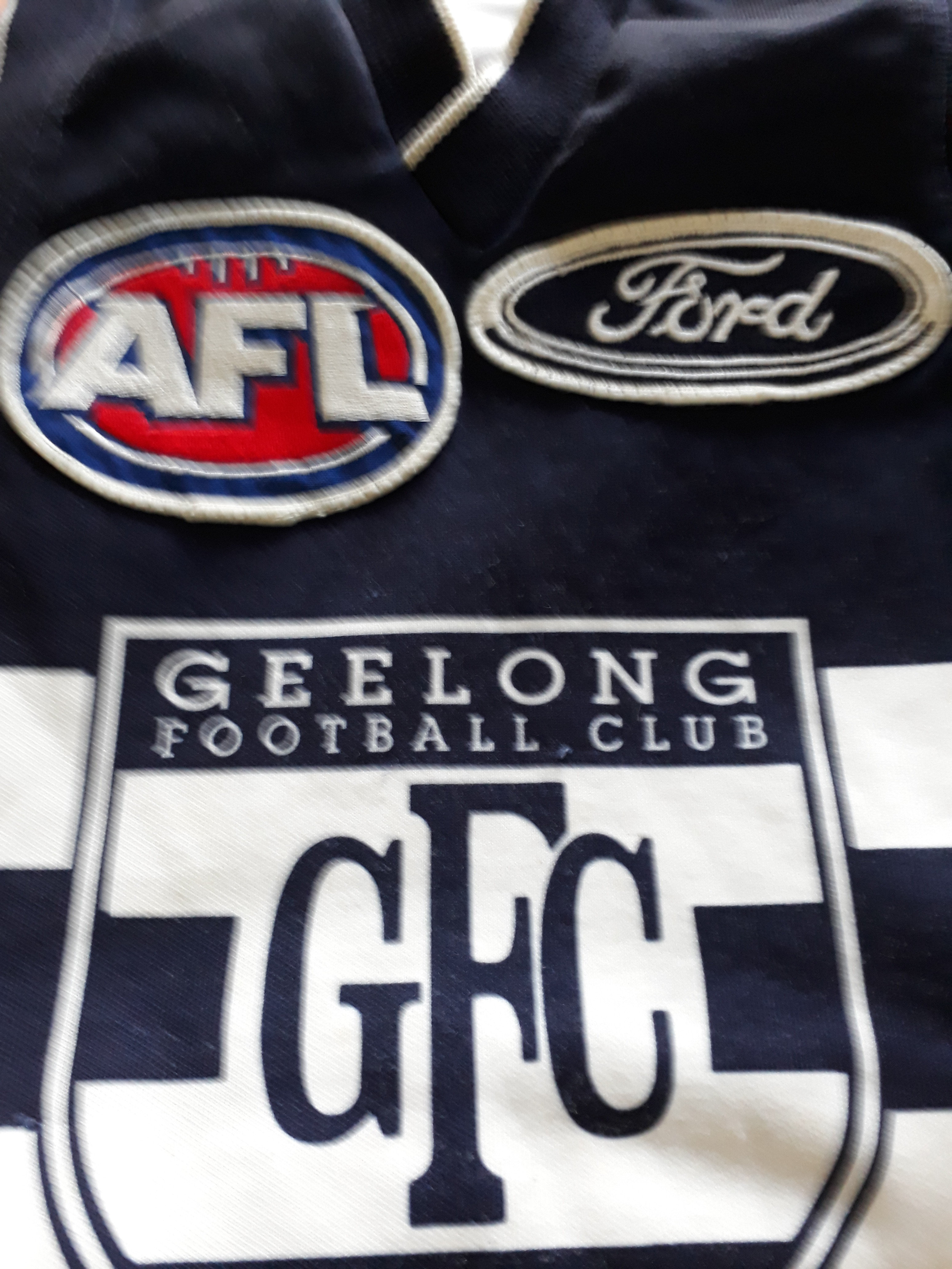Geelong Football Club Guernsey